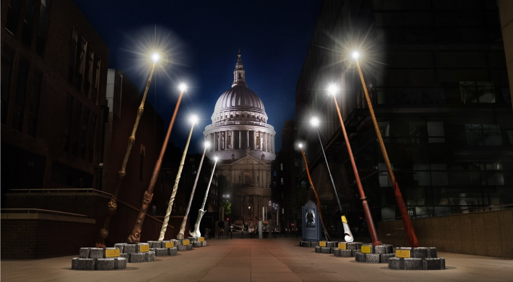 Giant Harry Potter Wands Could Be Coming To Manchester