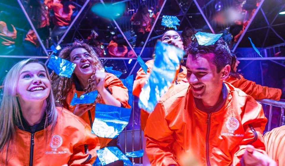 Take On The Crystal Maze Live Experience In Manchester