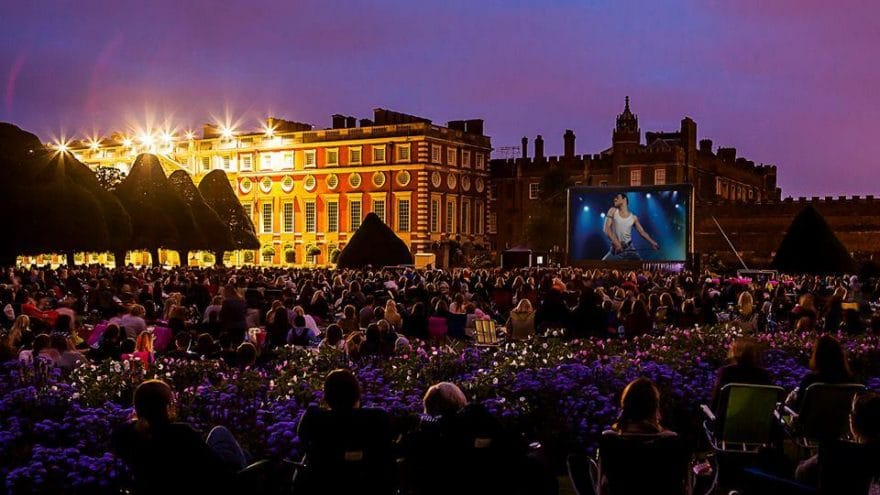 A Beautiful Open-Air Cinema Will Be Screening Bohemian Rhapsody (And Serving Prosecco) This Summer