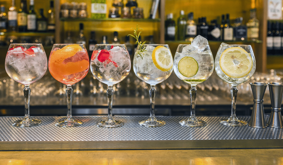 A Gin And Tonic Show Is Coming To Manchester This Year