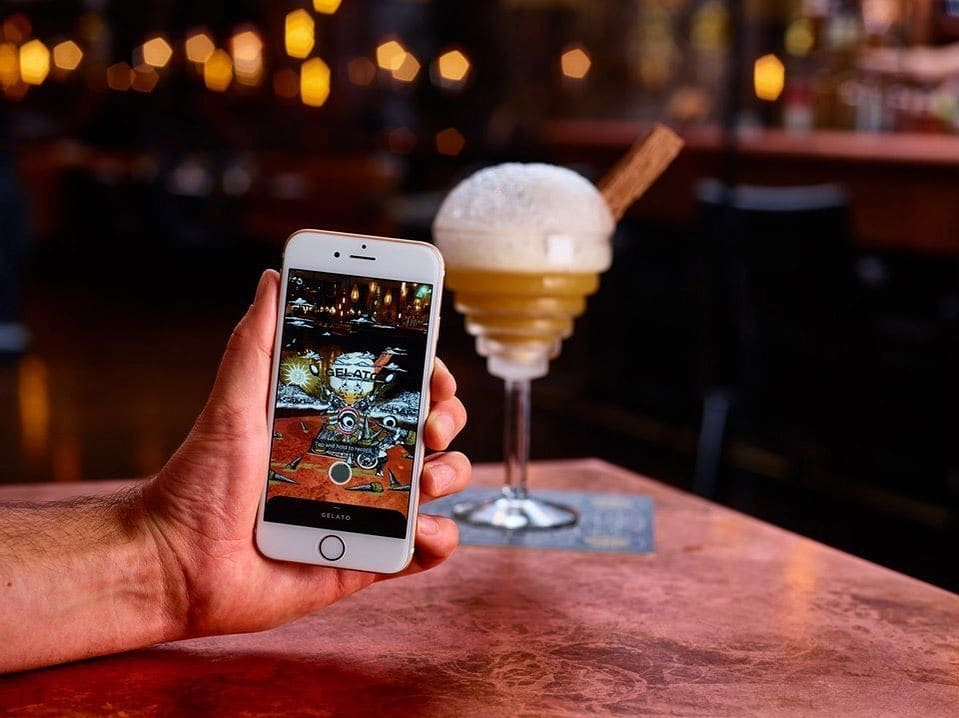 There's An Immersive Menu Of Secret Cocktails Available At The Alchemist