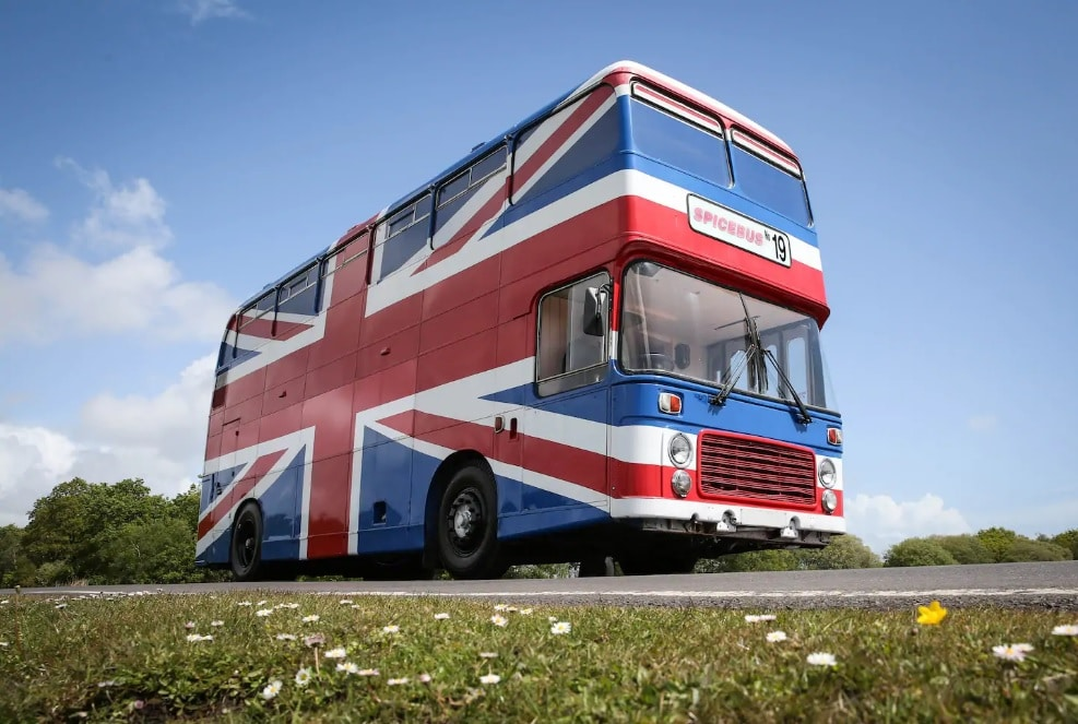 The Original Spice Bus From The 'Spice World' Movie Is Now On Airbnb
