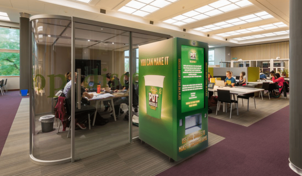A Pot Noodle Vending Machine Will Pop Up In Manchester And Salford