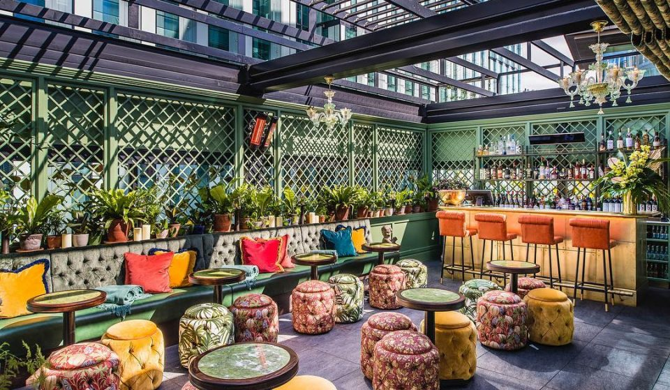 The Ivy Spinningfields Has Opened Its Gorgeous New Skylight Terrace