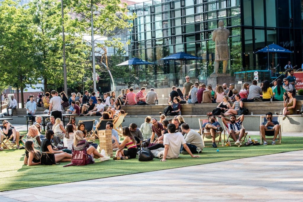 The Big Outdoor Screen Will Be Back In Manchester's First Street This Summer
