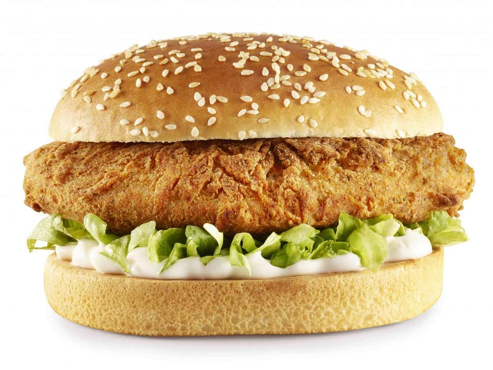 KFC Is Launching A Vegan Chicken Burger
