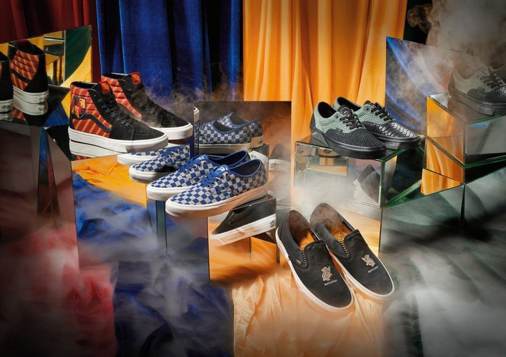 Vans Has Released A Harry Potter-Themed Collection And It Looks Magical