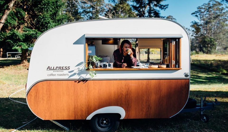 A Retro Caravan Will Be Giving Out FREE Espresso Martinis In Manchester Today