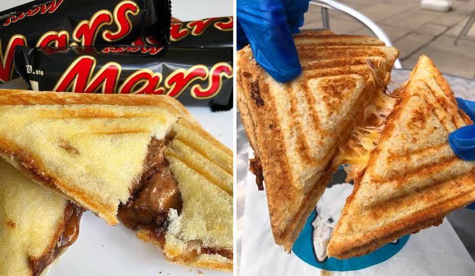 A Toastie Restaurant Exists In Manchester And The Fillings Look Outrageously Good