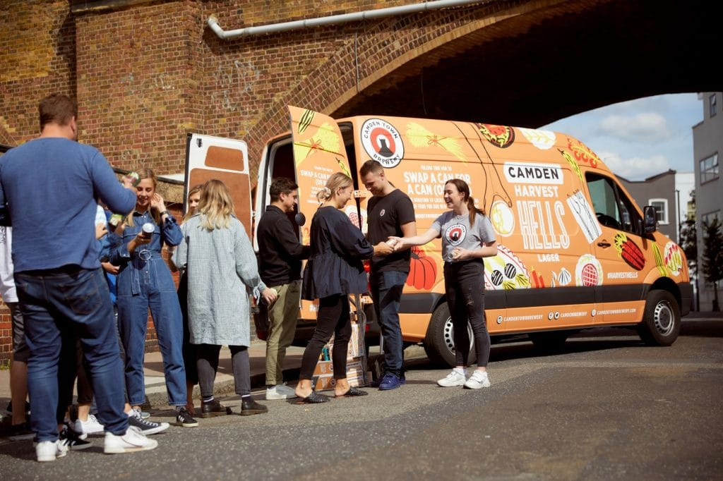 Camden Town Brewery Will Be Giving Out Free Beer In Manchester Today