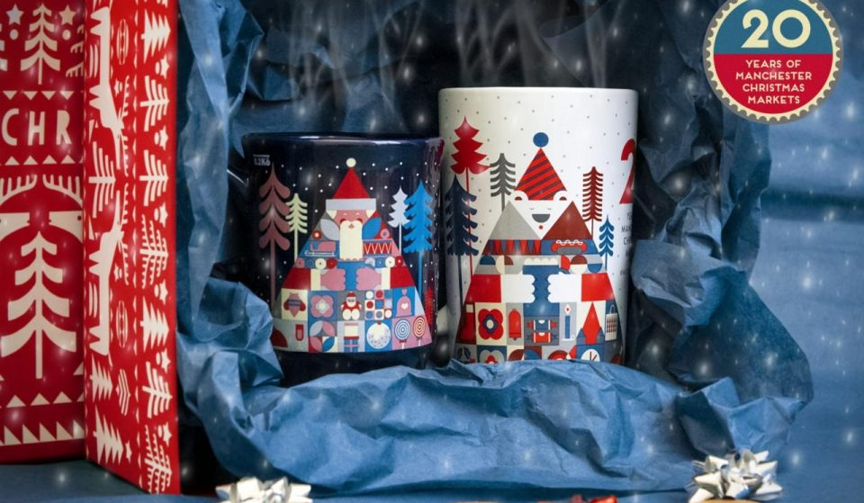 This Year's Manchester Christmas Market Mugs Have Been Revealed