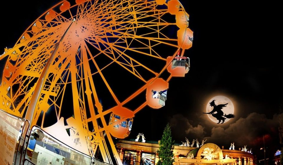 A Haunted Big Wheel Will Pop Up At The Trafford Centre This Halloween