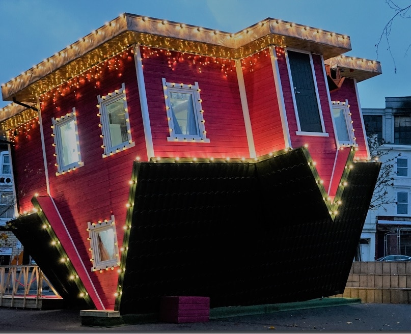 An Upside Down House Has Opened At The Trafford Centre