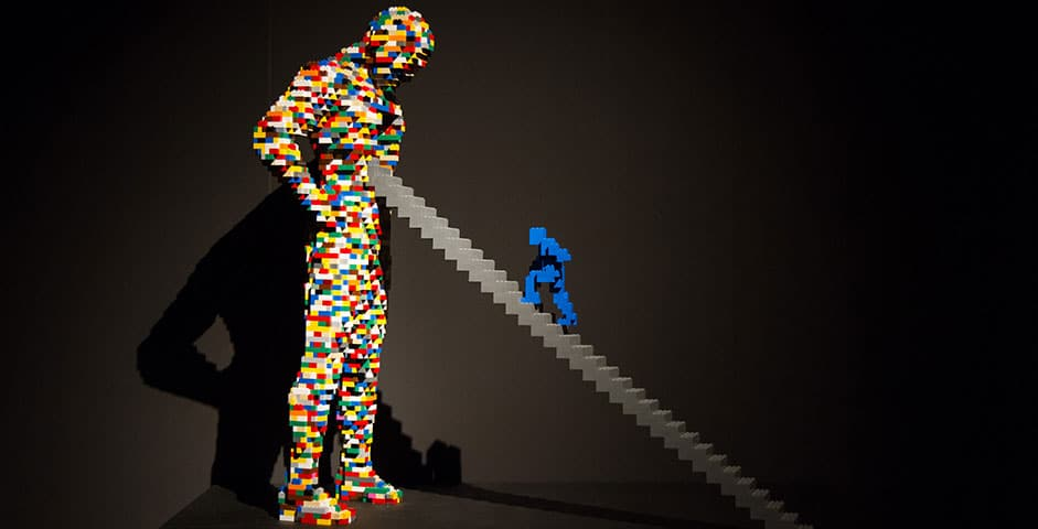 A LEGO Art Exhibition Has Opened In Manchester