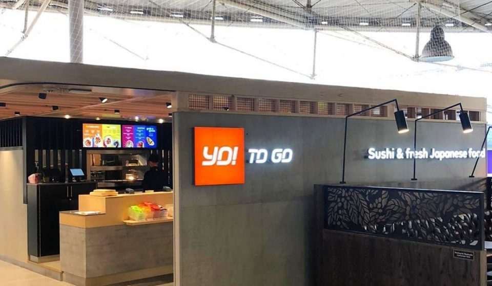 Yo Sushi Has Launched Its First Grab And Go Kiosk In Manchester