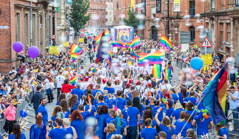 Manchester Pride Has Been Named The Best Large Pride Event In The UK