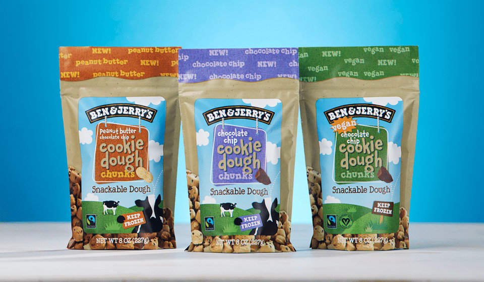 You Can Now Buy Ben & Jerry's Cookie Dough Chunks In The UK