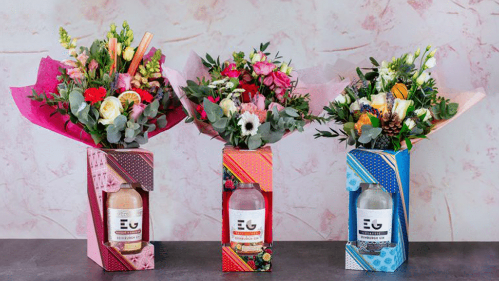 Edinburgh Gin Has Released The Perfect Gin Bouquet For Valentine's Day