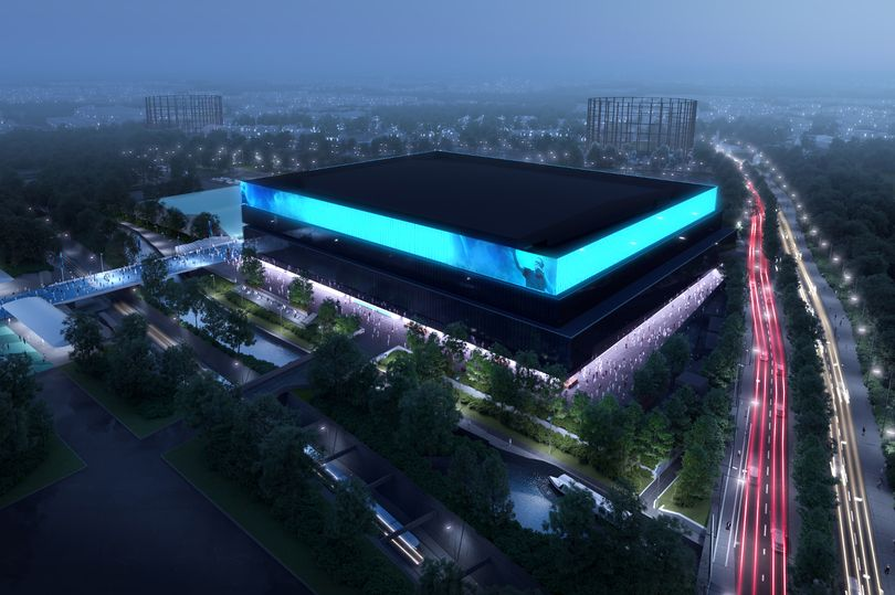 A First Look Inside The UK's Biggest Arena In Manchester Has Finally Been Revealed