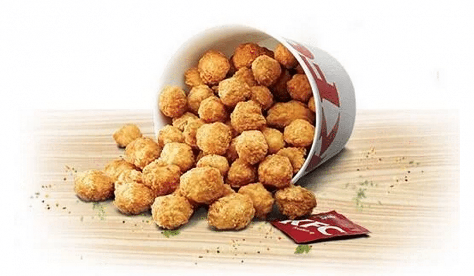 You Can Now Get A Huge 80-Piece KFC Popcorn Chicken Bucket For £5.99