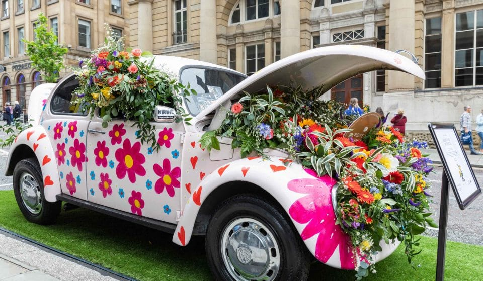 A Retro Flower Show Is Coming To Manchester's King Street