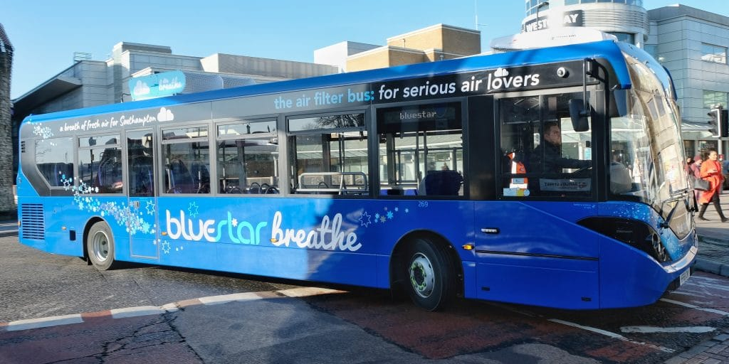 An Air-Filtering Bus Will Soon Be Riding Around Manchester
