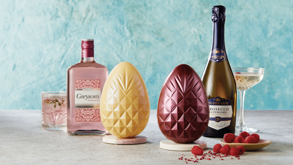 Aldi Is Selling Gin And Prosecco Infused Chocolate Eggs For Easter This Year