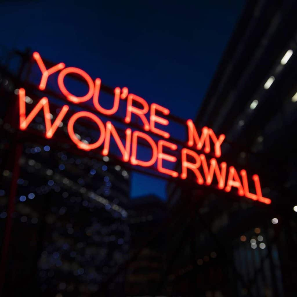An Oasis-Themed Neon Art Installation Is Coming To Spinningfields