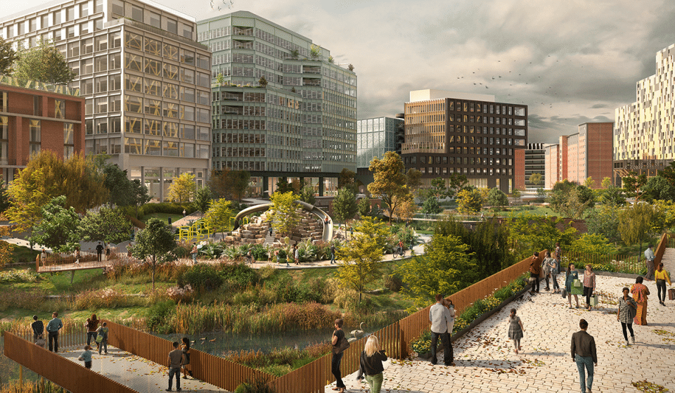 Manchester City Centre's First Park In Over 100 Years Is Officially Under Construction