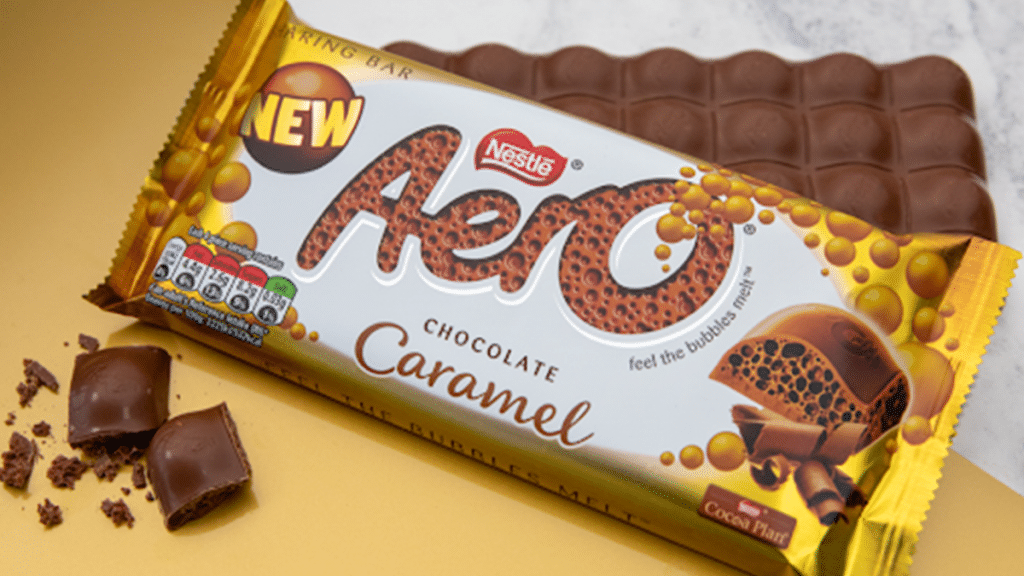 Aero Is Launching A Caramel Flavour In The UK And It Sounds Delicious