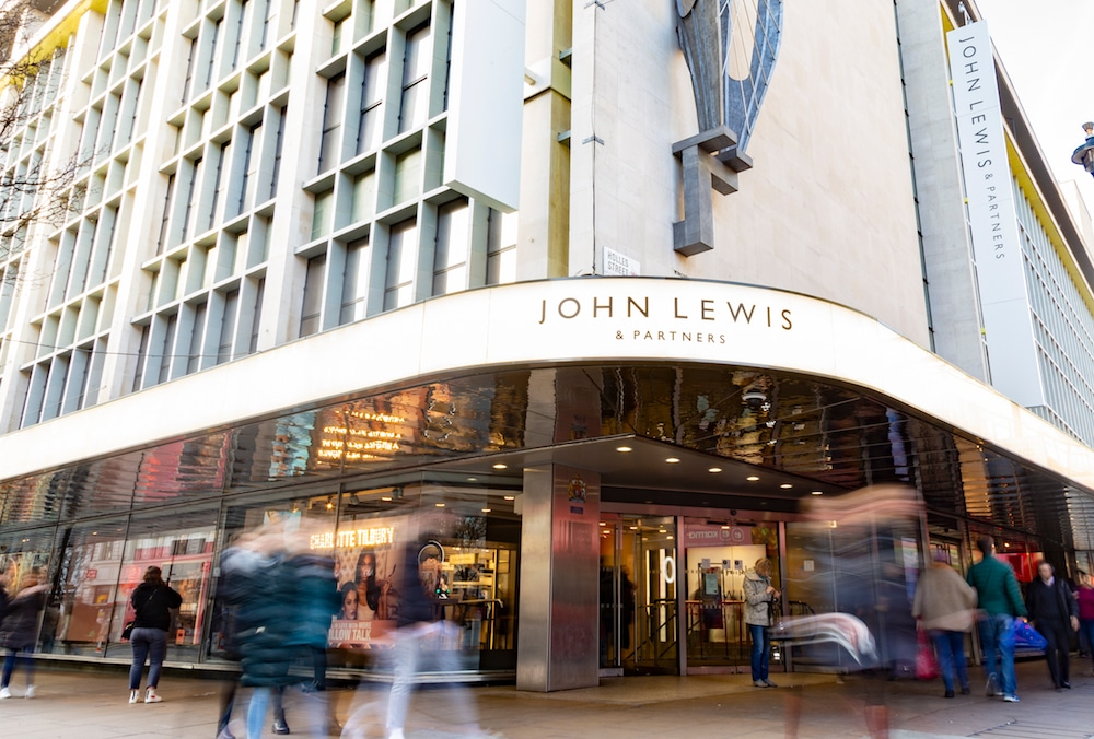 John Lewis Are Closing All UK Stores From Monday Evening