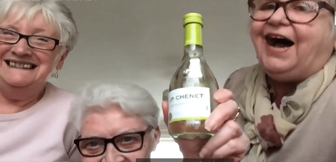 Three Elderly Friends Are Moving In Together To Self-Isolate With Netflix And Wine