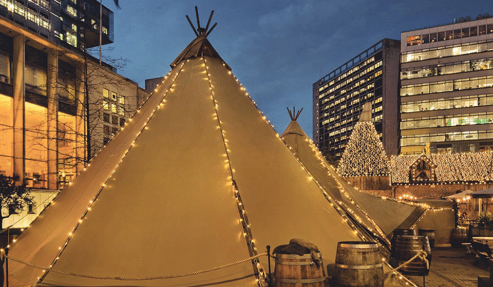 Celebrate International Women's Day With Wholesome Movie Screenings In A Teepee