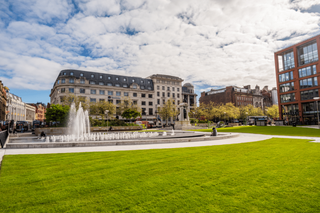 Piccadilly Gardens Is Receiving A Huge Makeover – And The Big Wall Is Going