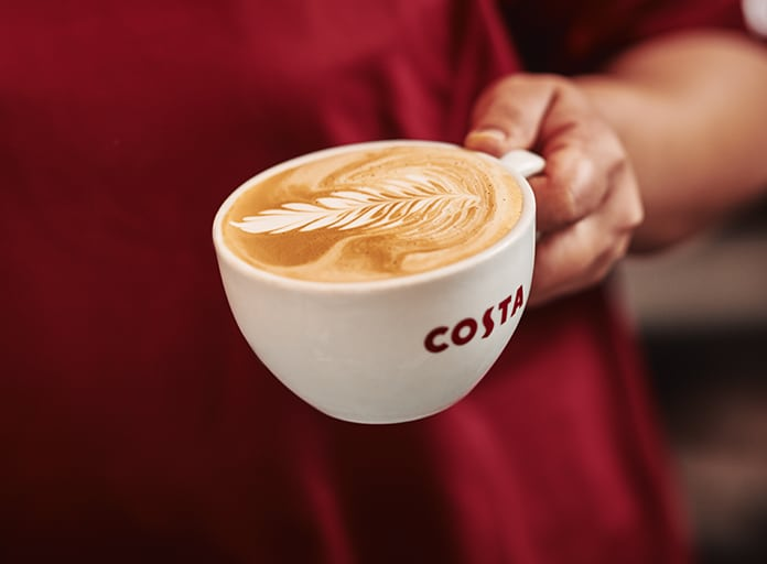 Costa Is Re-Opening Two Of Its Coffee Shops In Manchester