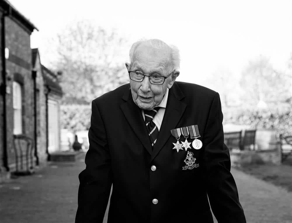 National Treasure Captain Sir Tom Moore Has Died Aged 100