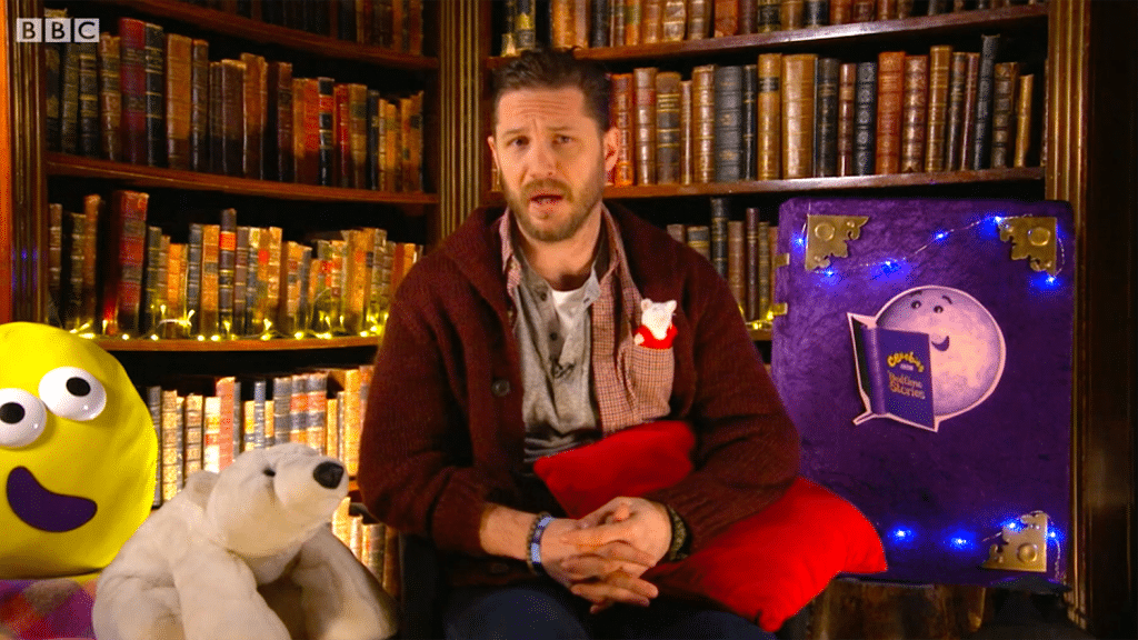 Tom Hardy Is Filming More CBeebies Bedtime Stories To Help Us Through Lockdown