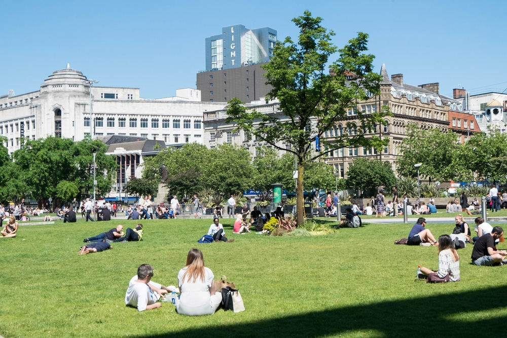 Manchester Set To Bask In A Heatwave This Week After Weeks Of Rain