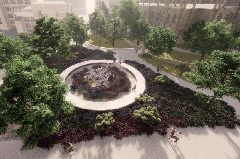 A New Memorial Garden For The Manchester Arena Victims Is Being Created