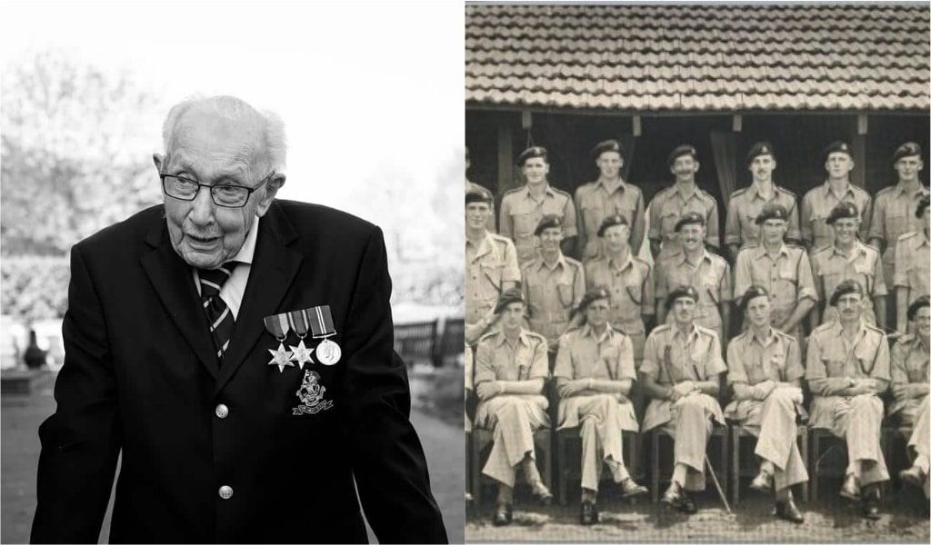 Colonel Tom Moore Has Been Offered A £1.5 Million Book Deal To Tell His Incredible Life Story