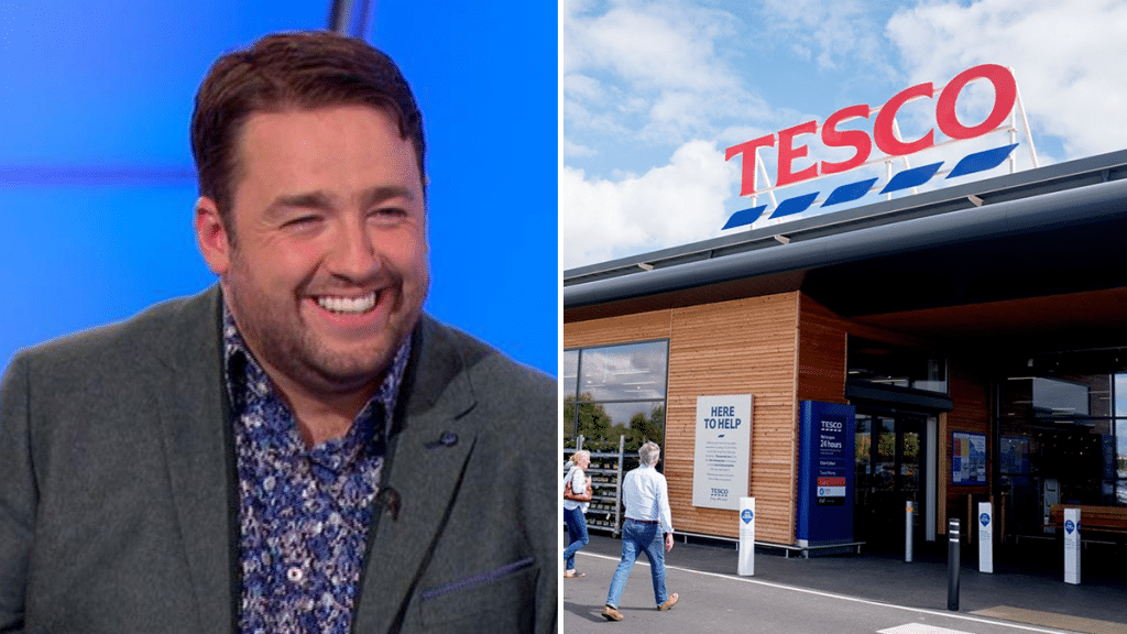 Jason Manford Was Just Rejected For A Job At Tesco, And His Response Is Hilarious
