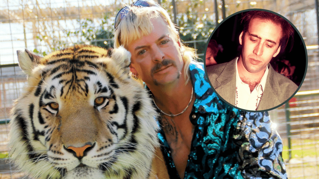 Nicholas Cage Set To Play Tiger King's Joe Exotic In A New TV Series