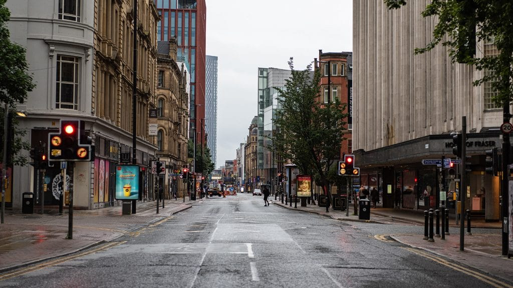 Deansgate Set To Be Partially Pedestrianised To Help With Social Distancing