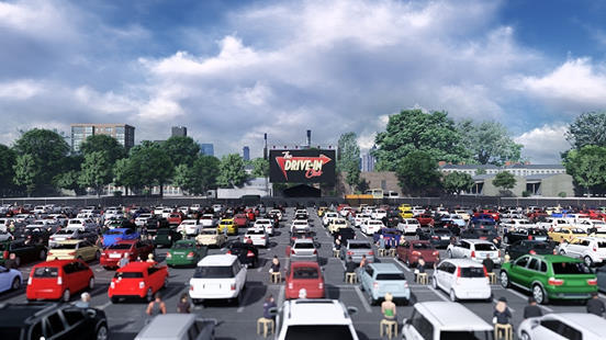 Park N Party At This Wonderful Socially-Distant Drive-In Cinema