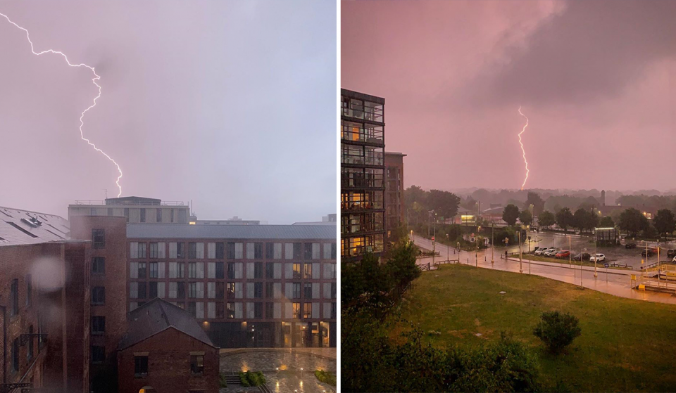 10 Electrifying Photos From Last Night's Huge Lightning Storm