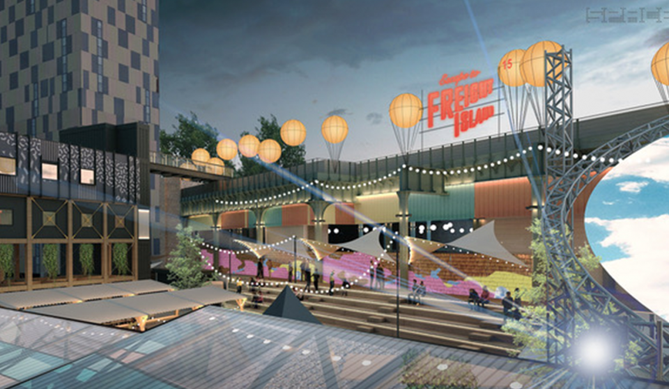 Manchester's New Outdoor Market At Depot Mayfield Opens This Month