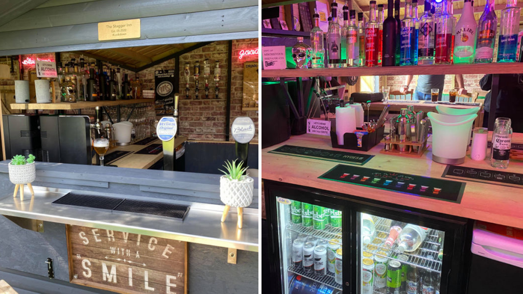 Cheshire Couple Build Incredible Pub In Their Garden For Just £500