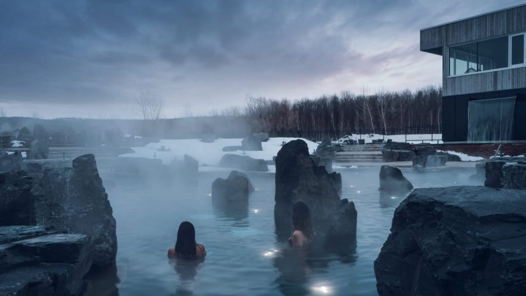 This Incredible Spa Resort Just Opened In Canada, And Manchester 100% Needs One