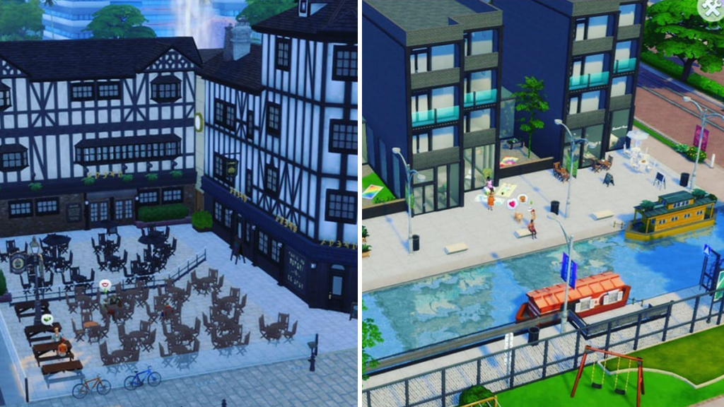Genius Manc Accurately Recreates Popular Manchester Spots Using The Sims