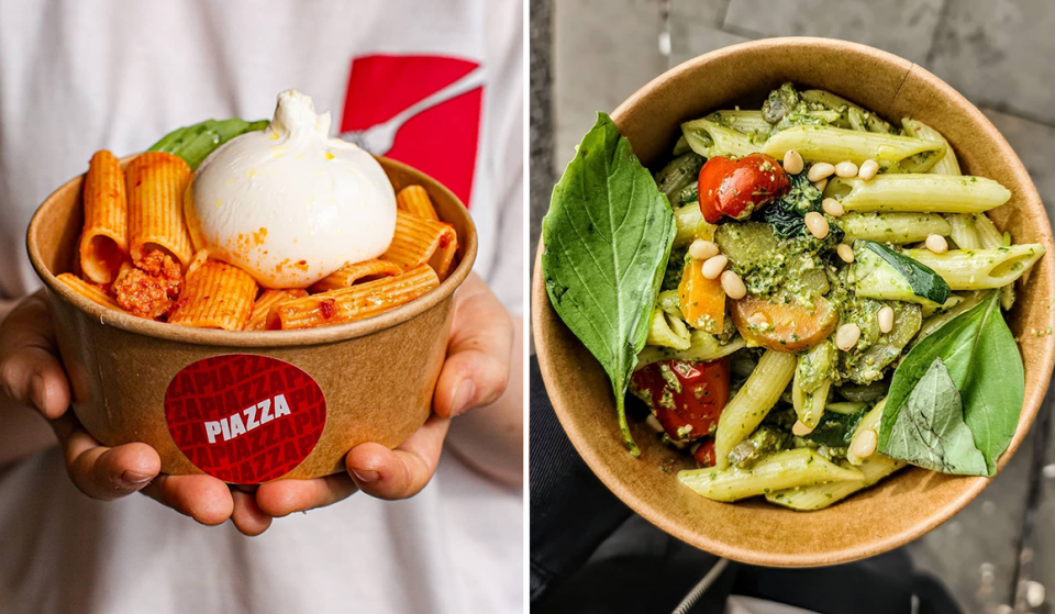 Create-Your-Own Pasta Bowl At This Wonderful New Little Lunch Spot In Town